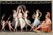 The-Graces-and-Venus-dancing-in-front-of-Mars.-Antonio-Canova